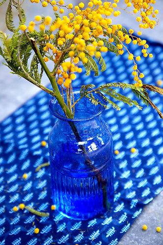 Recycled Blue Vase