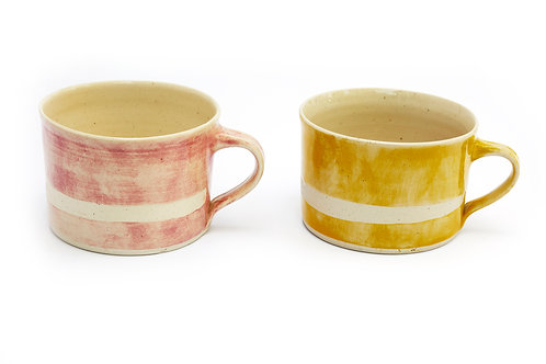 Squat Mug - Wax Line