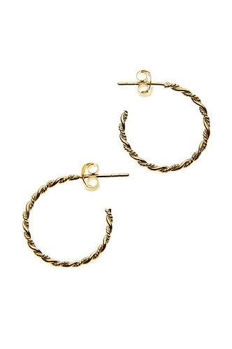 Gold Rope Hoop