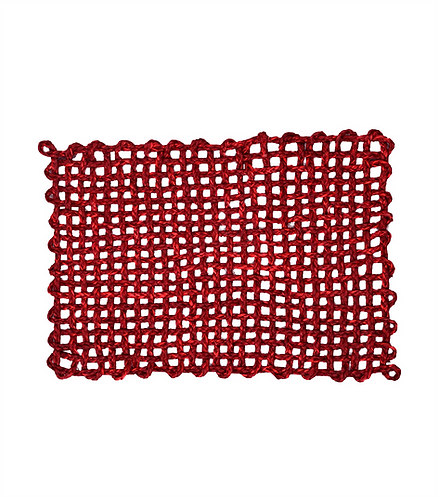 Sea Grass Placemat - Red