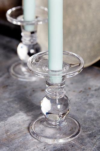 Ball Glass Candlestick