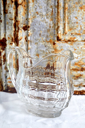 Vintage Glass Water Jug
