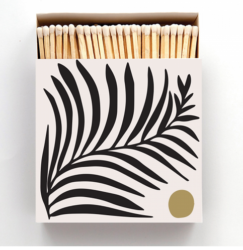 Fern Leaf Box of Matches