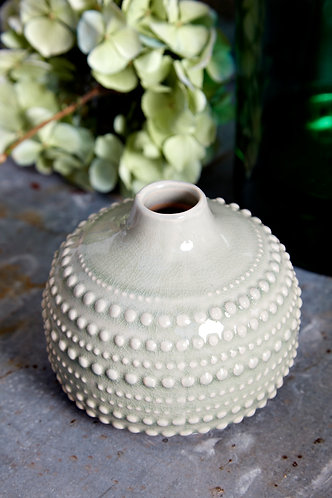 Sage Green Bobble Vase