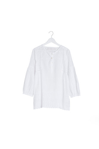 Broderie Anglais White Top