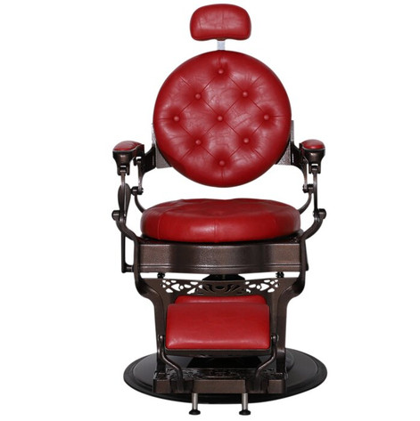 Spruce Hill Heavy Duty Metal Vintage Barber Power Rocker Recliner