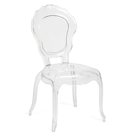 Victorian Clear Modern Ghost Chair