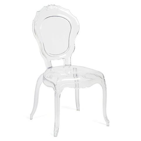 Victorian Clear Modern Ghost Chair