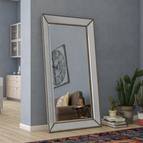 Kehl Beaded Leaner Mirror
