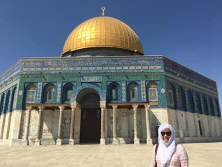 UPDATE FROM OUR PORTER FELLOW IN JERUSALEM: Della provides key support for JPB in the Holy City