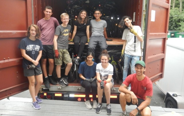 Bikes for the World service-project