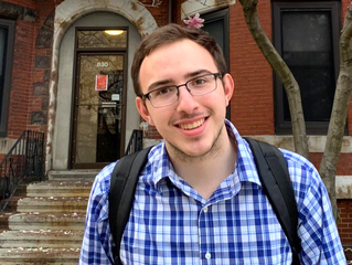 CHECKING IN WITH STAFF ALUM DANIEL ALEGRE: After working with JPB, he uses his voice for peace