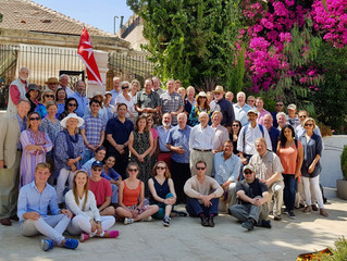 BUILDING PEACE AND HEALING TOGETHER: Fall Pilgrimage strengthens partnership with St. John Eye Hospi