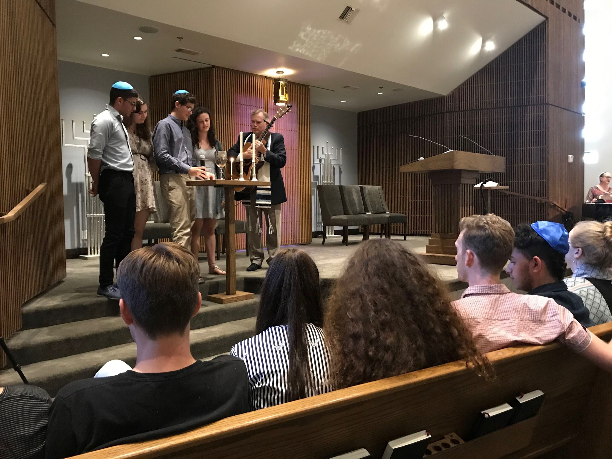 Celebrating Shabbat at the HCRJ