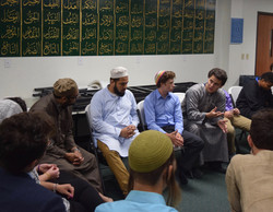 Meeting Muslim faith leaders