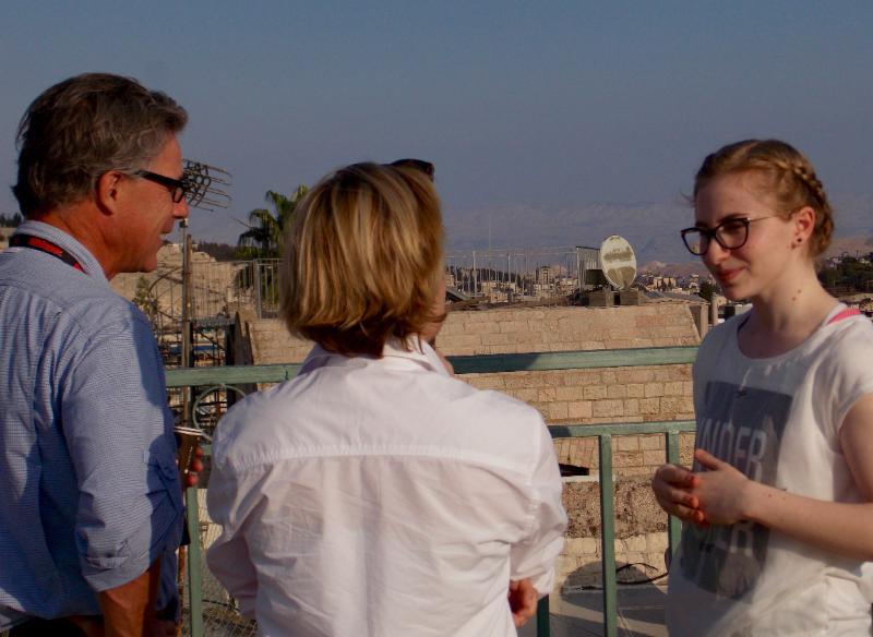 JPB Program alum discusses life in  Jerusalem