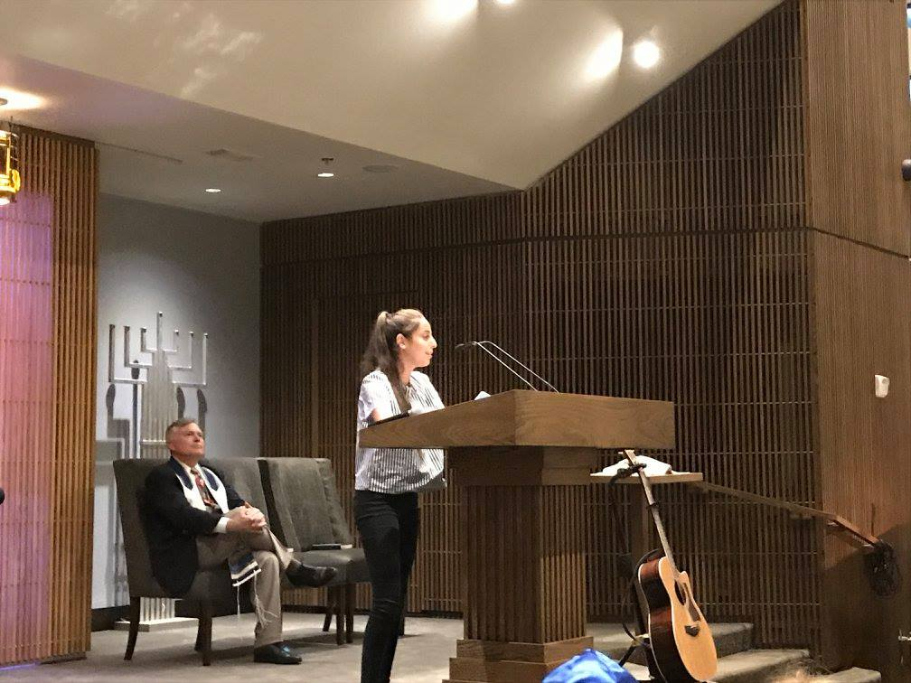 Presenting at a synagogue