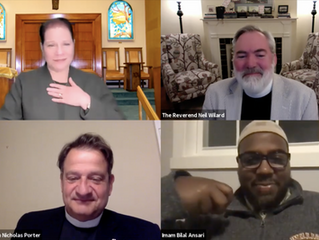 IN BRIEF: Interfaith Panel hosted by Palmer Church