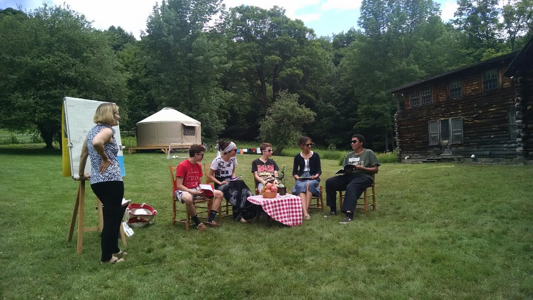 Guest workshop on storytelling