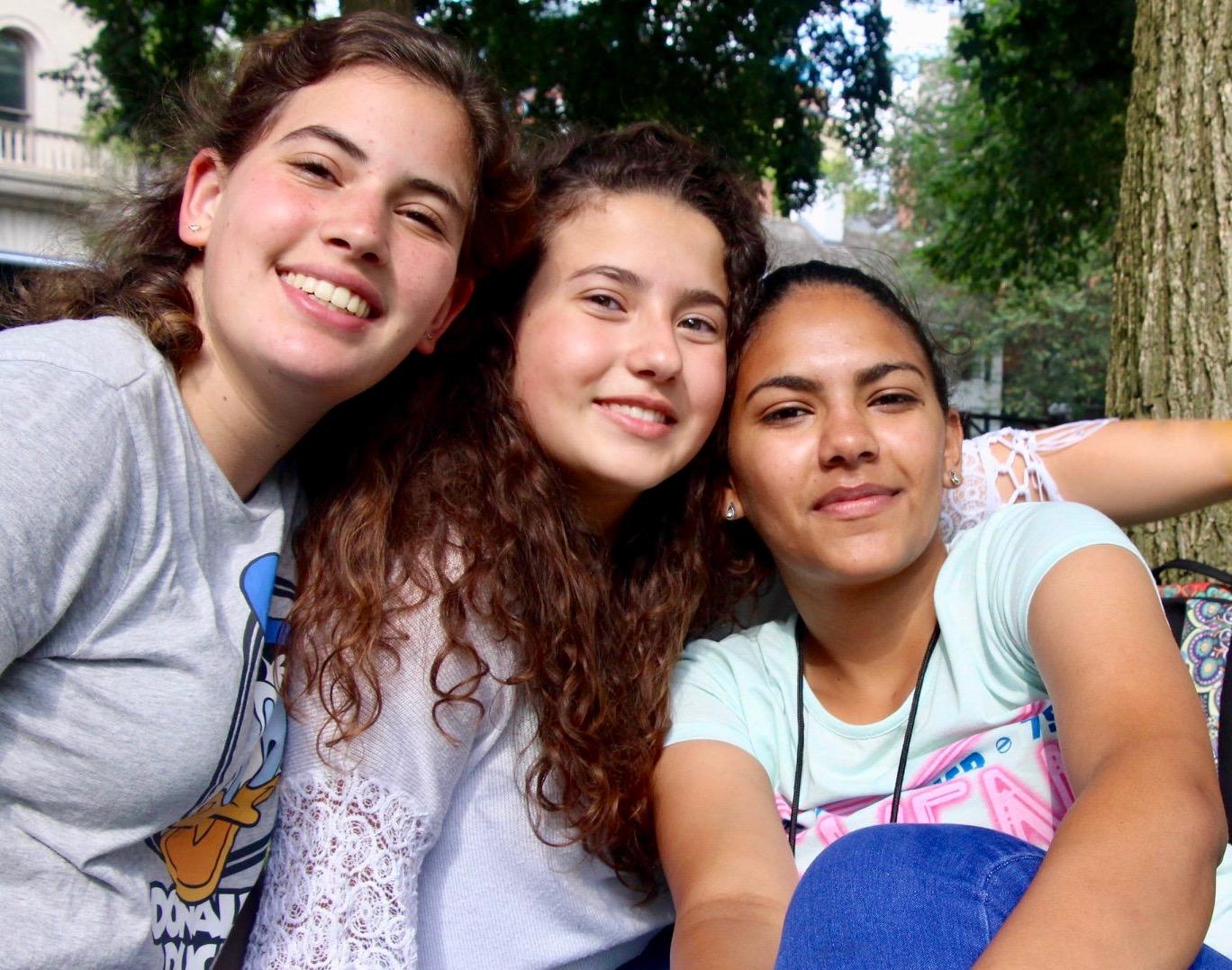 Jewish, Christian, and Muslim friendship