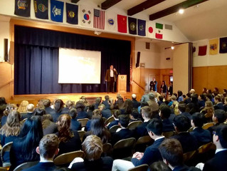 BEMENT SCHOOL WELCOMES JPB IN HONOR OF MARTIN LUTHER KING JR.: Presentations and workshop culminate