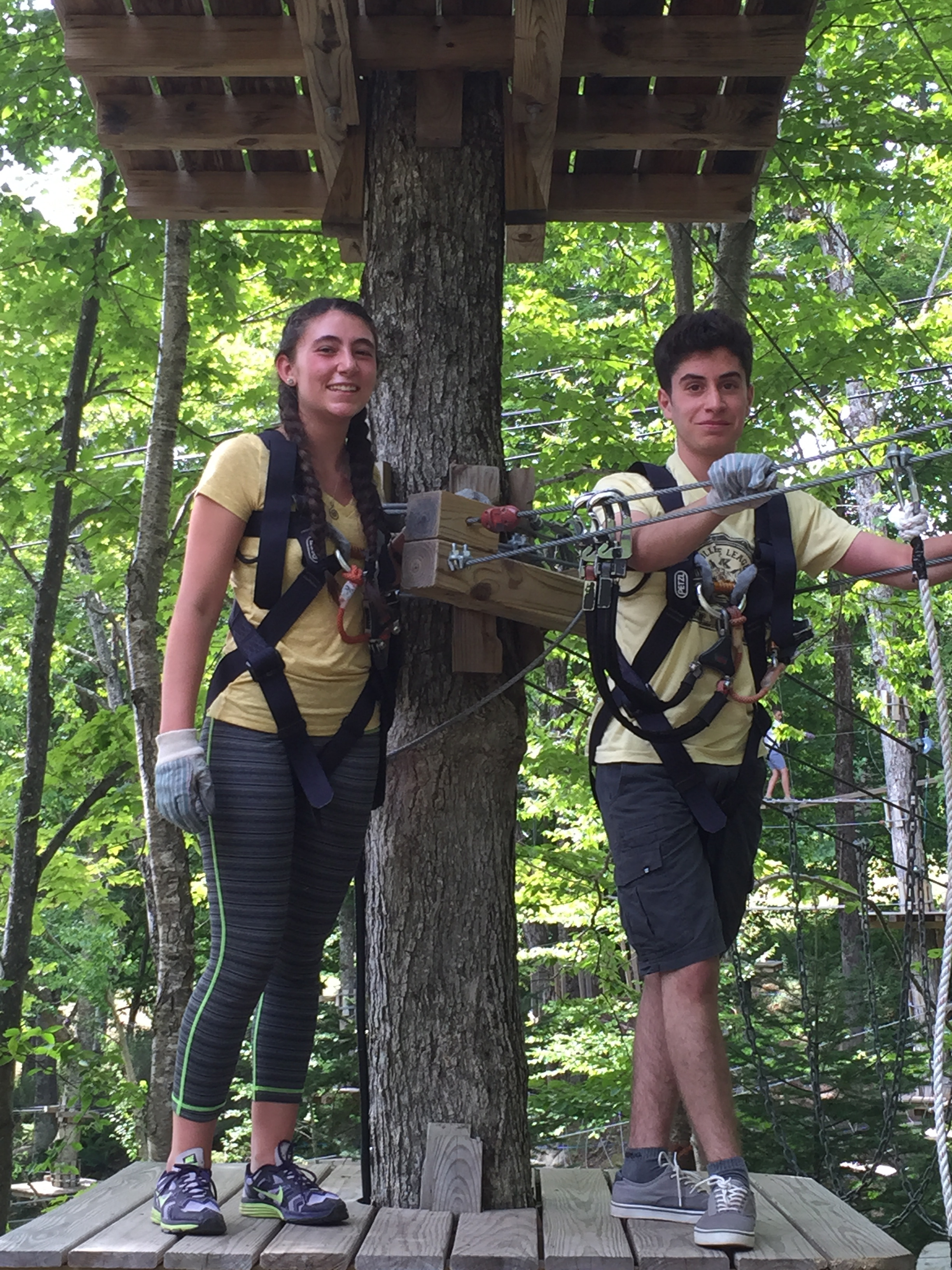 Ropes course day