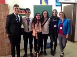 JPB Alums participating in MUN event