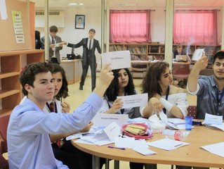 MUN DEBATE CONFERENCE IN ISRAEL CO-SPONSORED: QSchools invites JPB to lead workshops and deliver rem