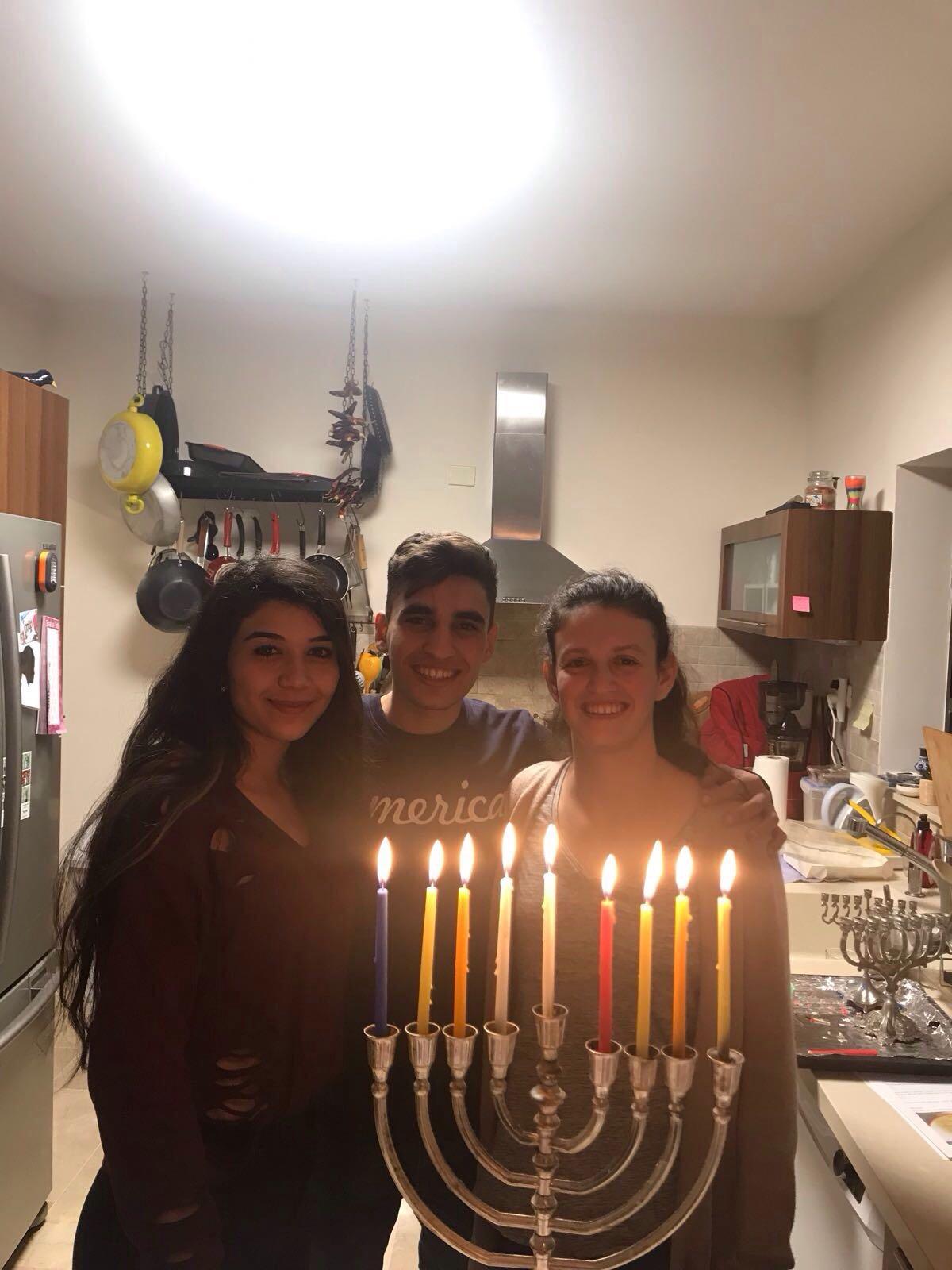 JPB Alumni celebrate Hanukkah