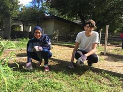Camp Allen service-project