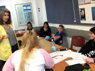 LEARNING LEADERSHIP IN NETANYA: JPB leads multiple workshops at distinguished school