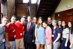 Meeting US Sen. Blumenthal