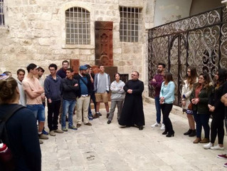 JPB BRINGS TOGETHER CHRISTIAN AND JEWISH SCHOOLS IN JERUSALEM: Visit paves way for future interfaith
