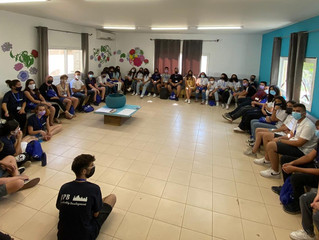 SUMMER 2021 REFLECTIONS - JPBLD youth in the Holy Lands