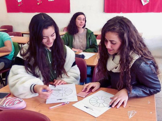 IN-SCHOOL PROGRAMS IN THE HOLY LAND GROW: JPB welcomed in multiple different regions