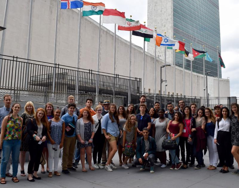 Visiting the United Nations Headquarters