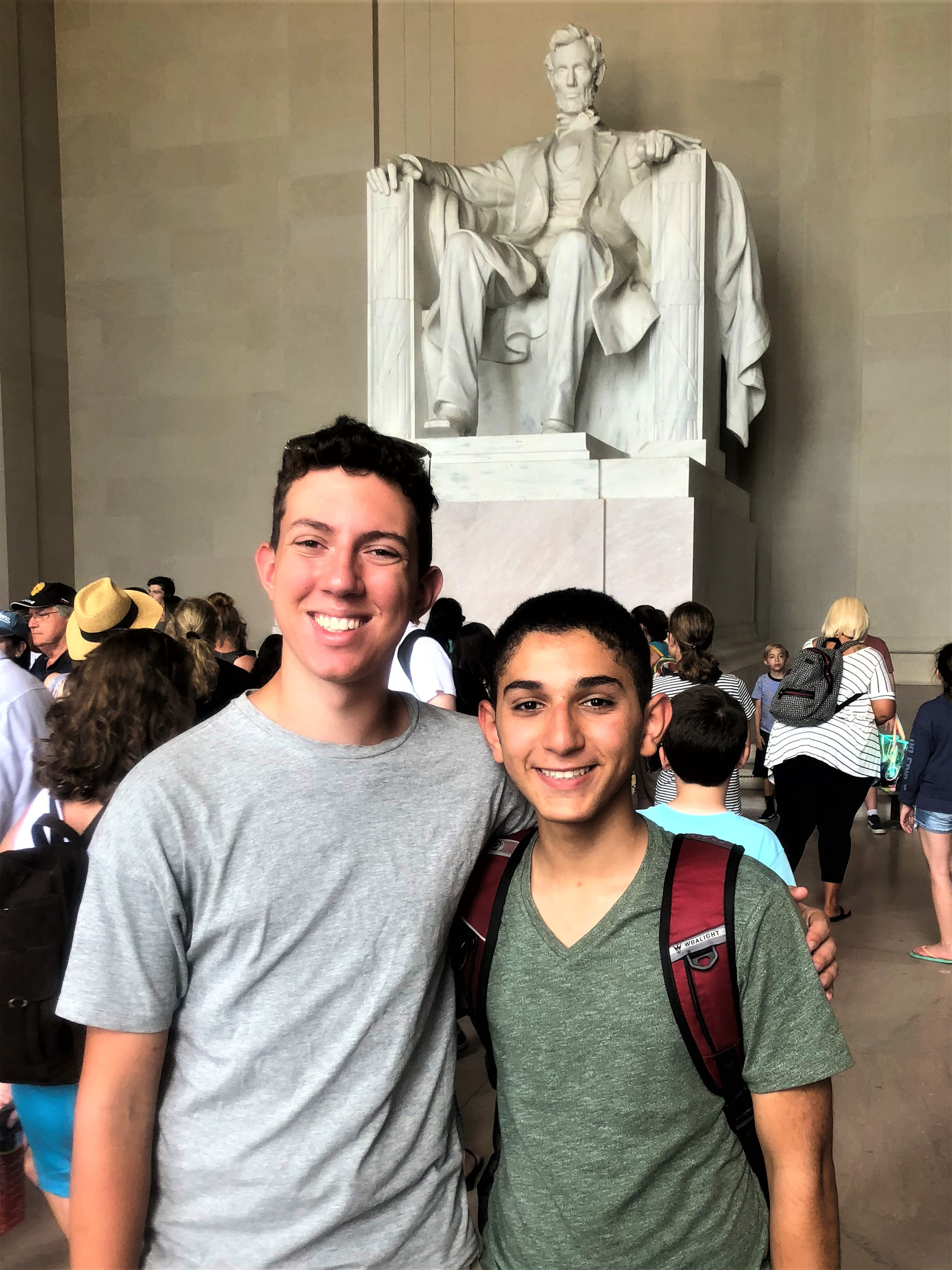 Touring the Lincoln Memorial