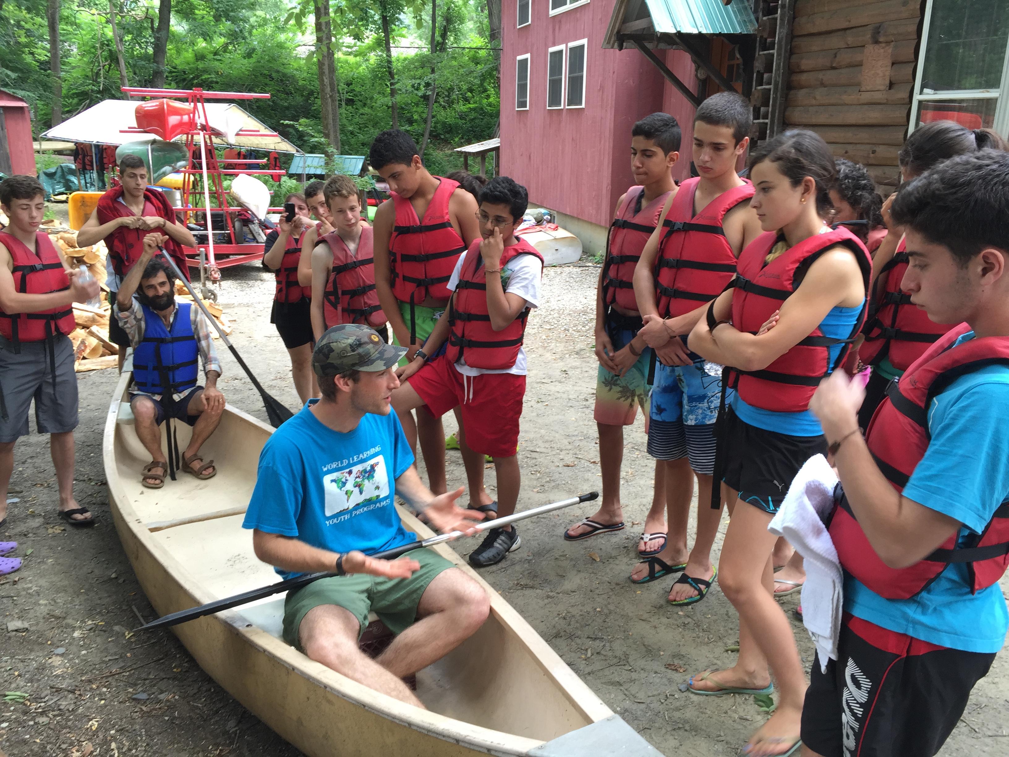 Canoeing tutorial