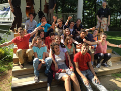 2015 Leadership Camp group