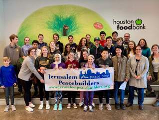 JPB TEENS GIVE BACK IN HOUSTON: Interfaith Youth Houston program continues to grow