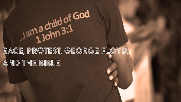 Race, Protest, George Floyd, and the Bib