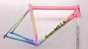 Unicorn inspired race bike