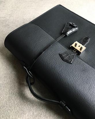 Bespoke Alligator & Calf Skin Briefcase