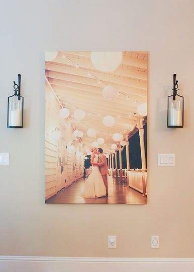 Wedding Canvas Wrap