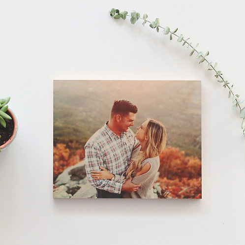 Solid Wood Photo Panel