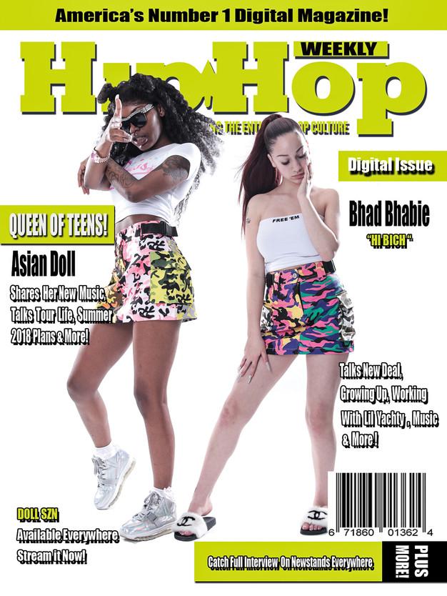 1b096981acc3c Bhad Bhabie Digital Cover designed by Briana Crudup.