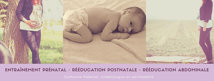 Entraînement prénatal - rééduication pos