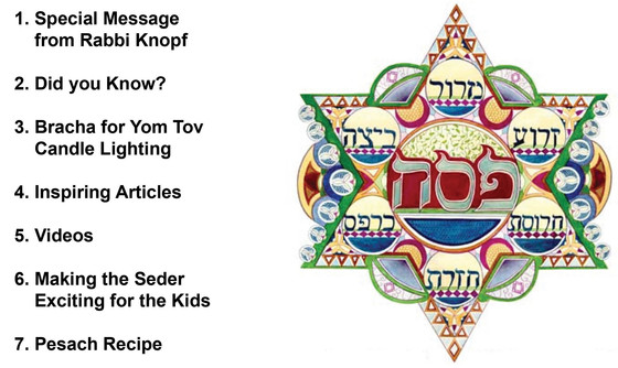 Your Guide to Pesach