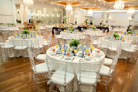 Our newly redesigned banquet hall