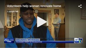 Volunteers help 87-year-old Lansing woman renovate home